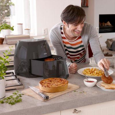 Philips Airfryer XXL Twin Turbostar: Perfektes Geschenk für ernährungsbewusste Hobbyköche.