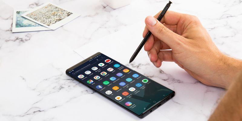S Pen beim Galaxy Note9: die Features.