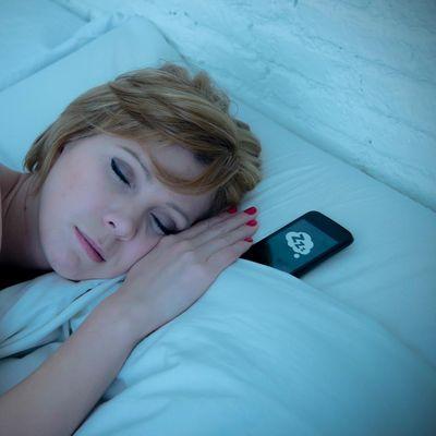 Schlaftracking per App und Smartphone.