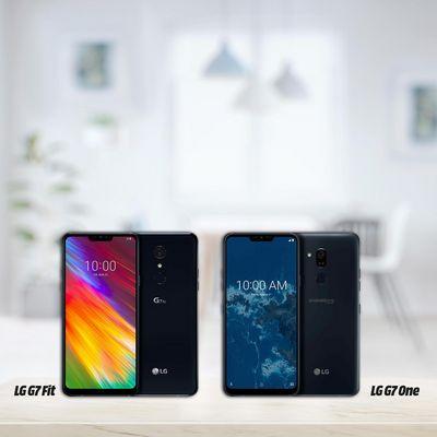 """LG zeigt mit dem """"G7 One"""" und """"G7 Plus"""" zwei neue Handymodelle aus der """"G7""""-Reihe auf der IFA 2018."""