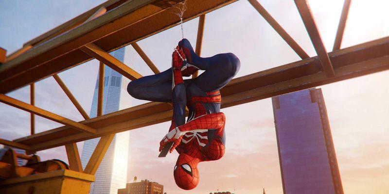 """Spider-Man landet auf der """"PlayStation 4""""."""