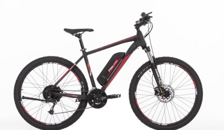 Hinterradantrieb ist ein wesentliches Kriterium bei E-Mountainbikes.
