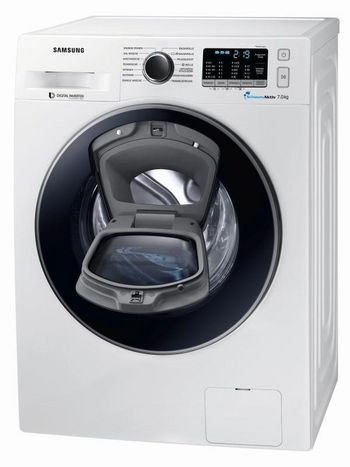 """Die Waschmaschine """"AddWash WW5500K"""" von Samsung."""