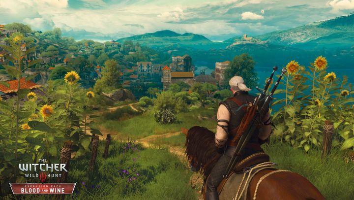"""""""Witcher"""" Geralt bestaunt die Flora."""