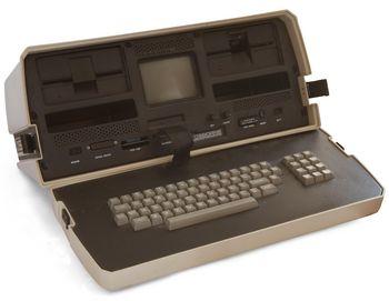 Einer der ersten Laptops