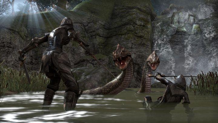 Natürlich können sich die Spieler auch zu zweit oder in einer Gruppe aufmachen, um die Geheimnisse Tamriels zu erkunden oder gefährliche Monster zu besiegen.