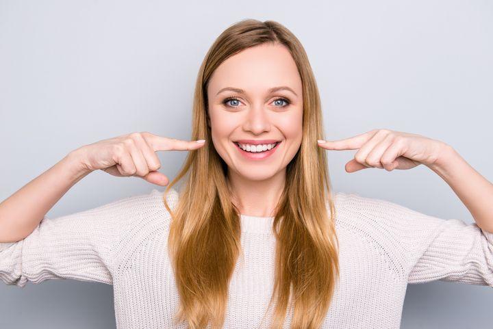 Strahlend schöne Zähne