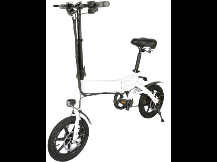 Das E-Faltrad Eycos Yogi-IQ hat eine Reichweite von bis zu 40 Kilometern.