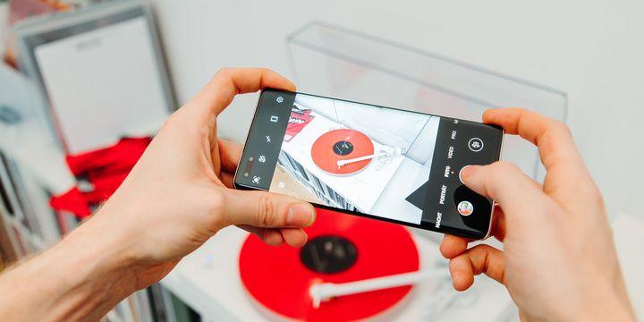 "Die Triple-Leica-Kamera des ""Huawei Mate40 Pro""."