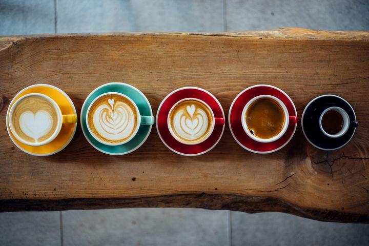 Kaffee in vielen Variationen.