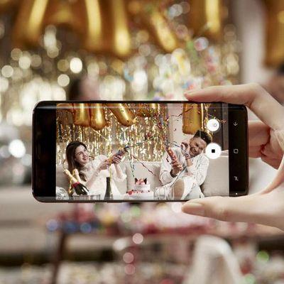 """Samsungs """"Gear VR"""" funktioniert auch mit dem """"Galaxy S9""""."""