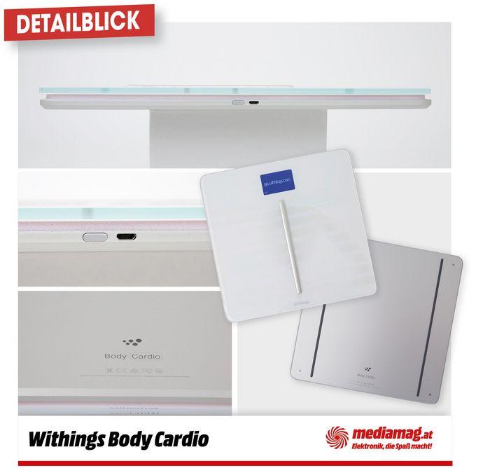 Die Withings Body Cardio ist schön, intelligent und gut für die Gesundheit.