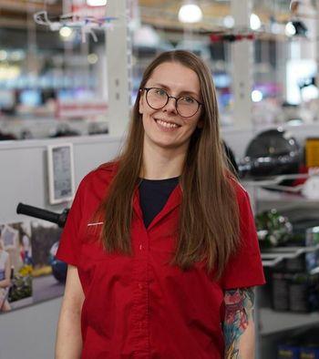 Tjasa Stumberger, Fachberaterin bei MediaMarkt Graz-Liebenau