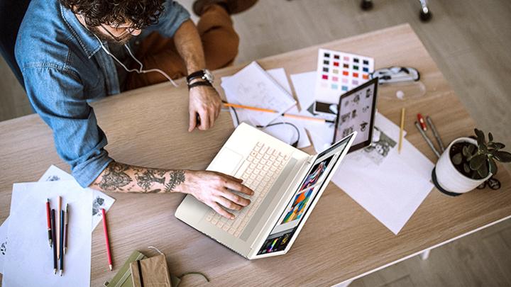 Das ConceptD 7 (Pro) Notebook ist für Creator