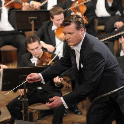 """Christian Thielemann, Wiener Philharmoniker mit dem """"Neujahrskonzert 2019""""."""
