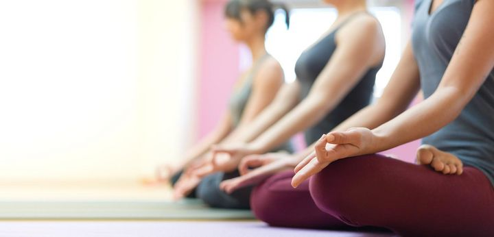 Meditation hilft gegen den Stress.