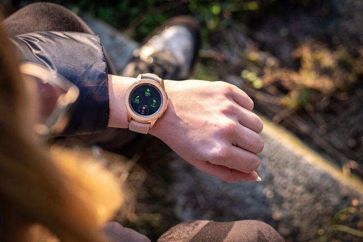 """Die """"Galaxy Watch"""" von Samsung."""