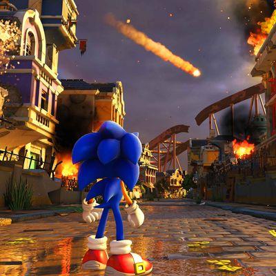 Weltuntergangsstimmung im Sonic-Paradies.