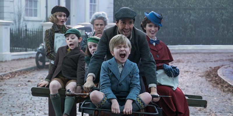Mary Poppins kehrt auf die große Leinwand zurück.