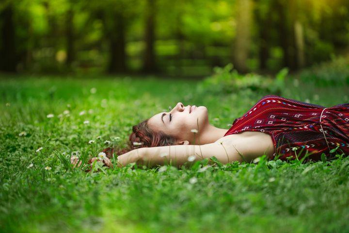 Naturgeräusche beruhigen den Geist.