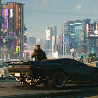 Cyberpunk 2077 auf der E3.