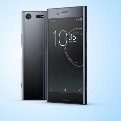 Das neue Sony Xperia XZ Premium im Portrait.