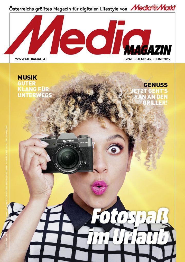 Die Themen des Mediamagazins im Juni 2019.