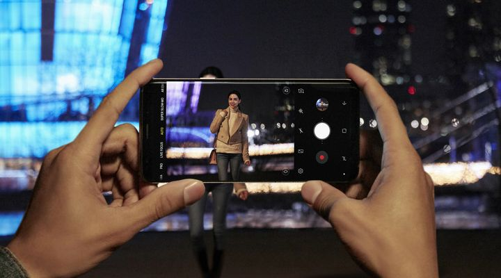 Kameraspaß mit dem Samsung Galaxy S9: Low Light.