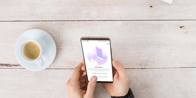 """Phone Clone App: Datenumzug aufs """"Huawei Mate10 Pro"""" leicht gemacht."""