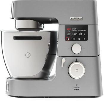 Kenwood Cooking Chef Gourmet KCC9060S ist eine Küchenmaschine mit mehr als 50 Funktionen und 24 voreingestellten Kochprogrammen.