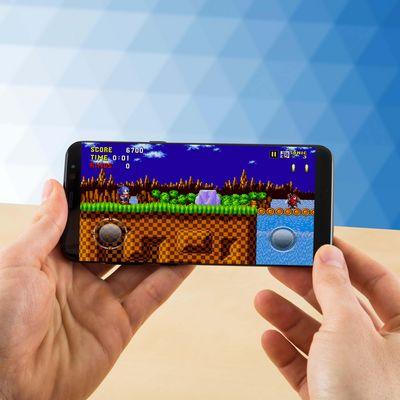 """Spielen Sie """"Sonic the Hedgehog"""" auf dem Smartphone."""