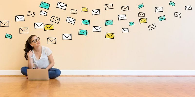 Viele E-Mails.