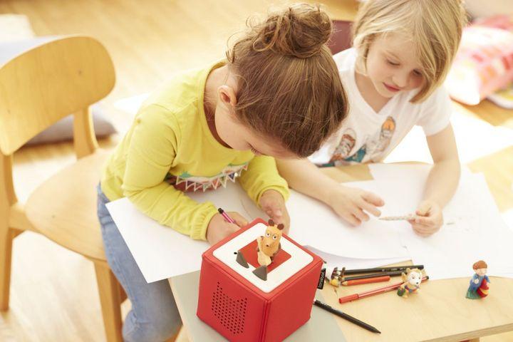 """Die """"Tonie""""-Boxen und -Hörfiguren für Kinder."""