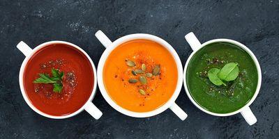 Rezepte für herrlich cremige Suppe aus dem Mixer.