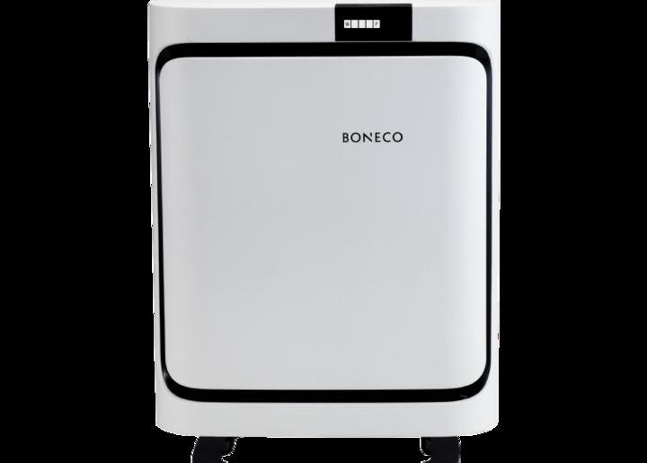 Bedürfnisgerechte Filter (Allergy/Baby/Smog) sind die Stärke des Luftreinigers P400 von Boneco.