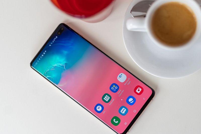"""Das """"Samsung Galaxy S10+"""" im Detailblick"""