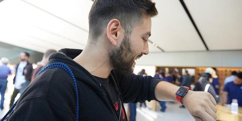 Die Apple Watch als Fernauslöser für das iPhone.