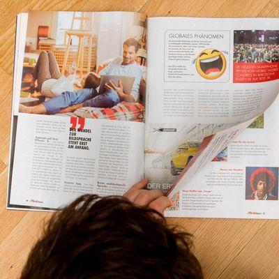 Das Mediamagazin im März 2018.