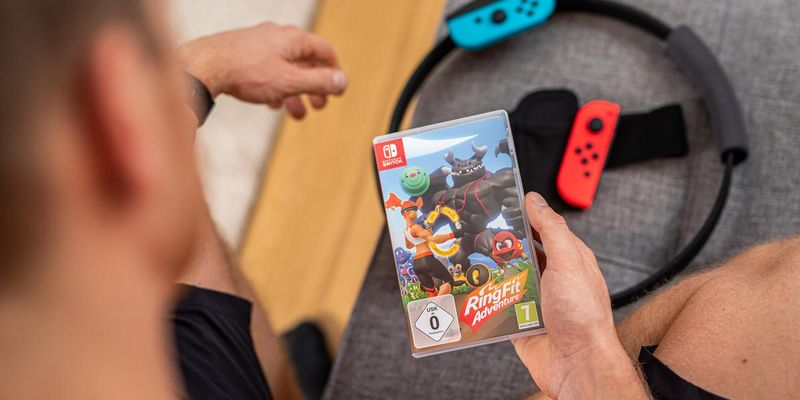 """Ring Fit Adventure"" für die ""Switch""."