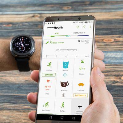 Die besten Fitness-Apps für die Samsung Gear Sport.