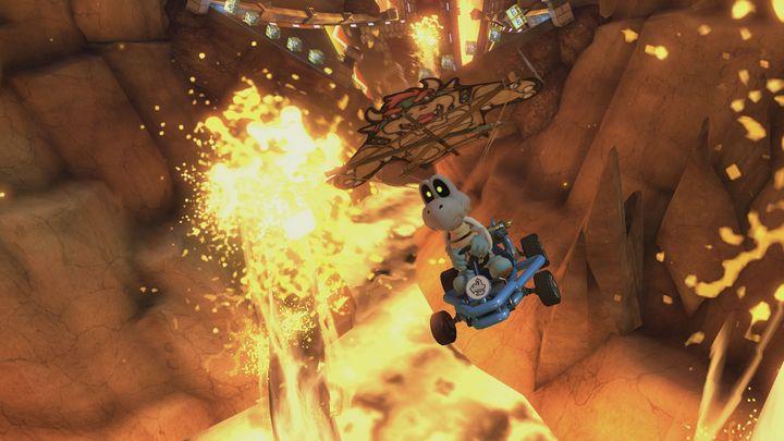 Ein Screenshot aus Mario Kart 8 Deluxe
