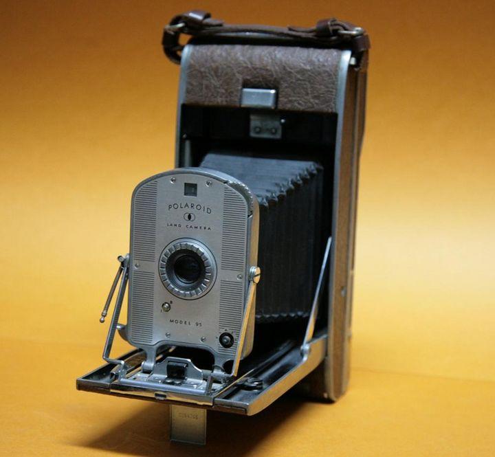 Polaroid: 1947 wurde die erste Sofortbildkamera vorgestellt.