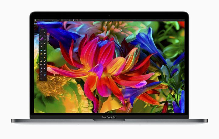 Das neue Display des MacBook Pro ist noch heller.