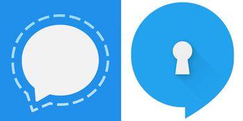 Gibt's für Android und iOS: Signal