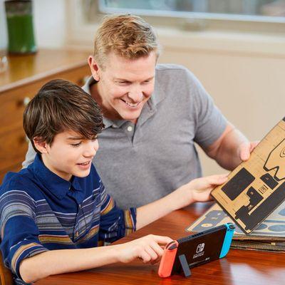 """Nintendo """"Labo"""" verbindet Basteln und Spielen."""