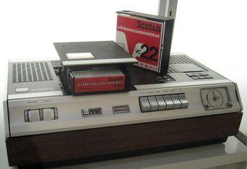 Videorekorder mit VCR