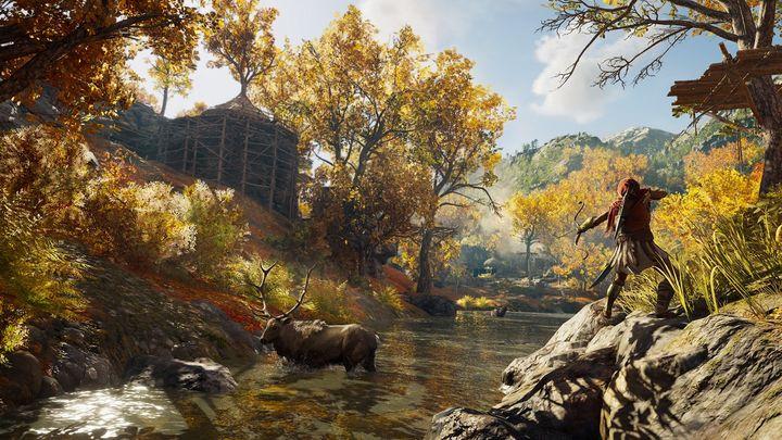"""In """"Assassin's Creed Odyssey"""" streift man durch die riesige Spielwelt im alten Griechenland."""