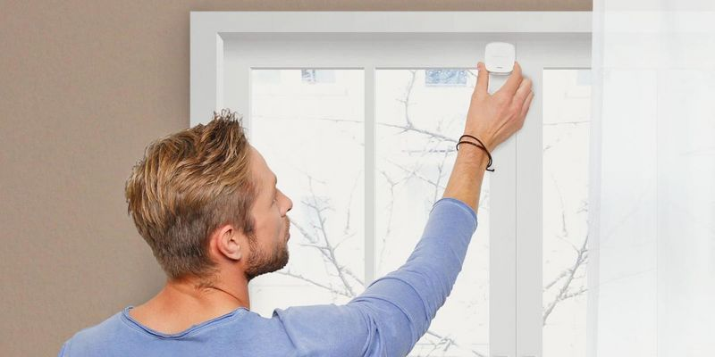 "Smart Home Fenstersensor ""Elements Window"" von Gigaset."