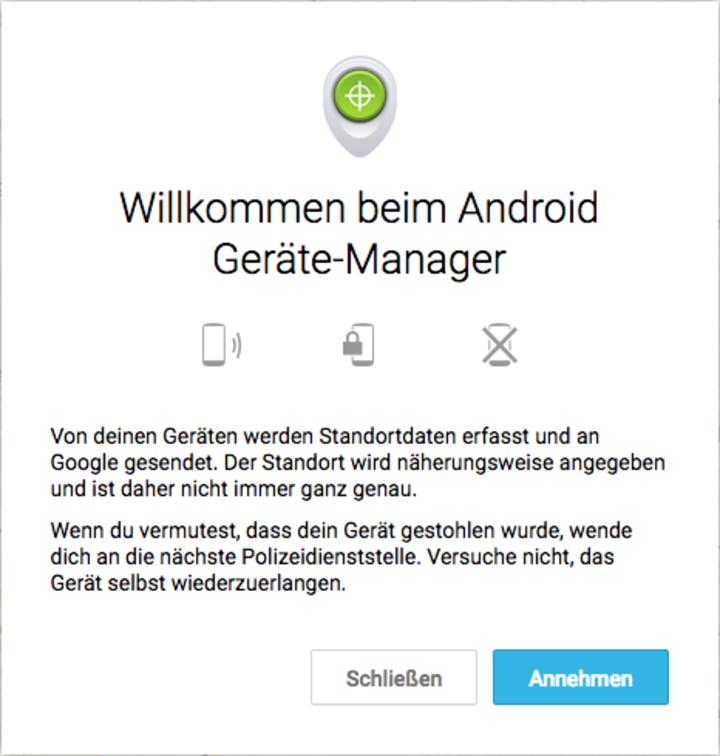 """Zunächst besucht man den """"Google Play Store""""."""