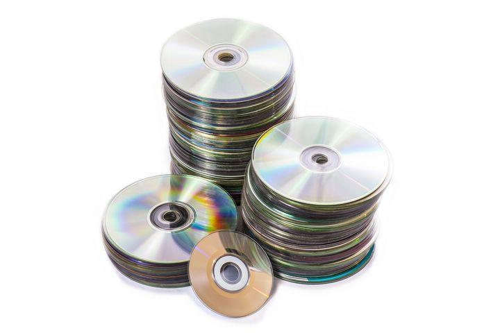 Wenn sich die CDs schon stapeln, wird es Zeit zum Entsorgen.